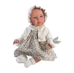 Bilde av ASI dukke - Leonora, dukke med Beige blomstrete
